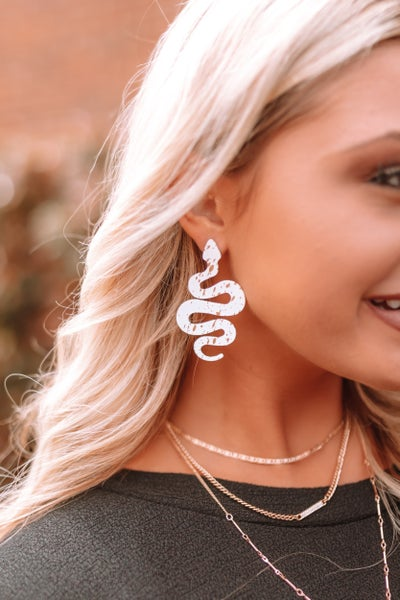 Slither Around Earrings