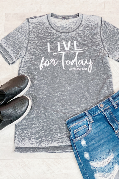 Live For Today Graphic Tee