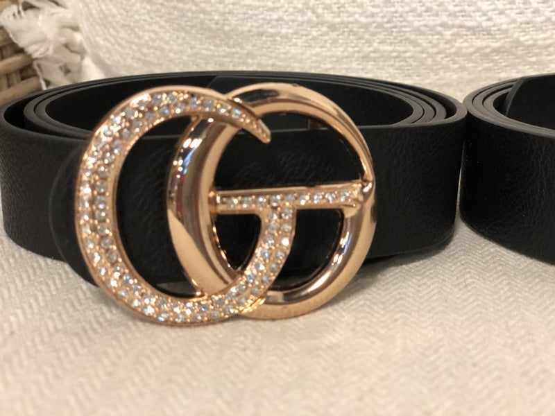 Glam Girl Curvy Belt