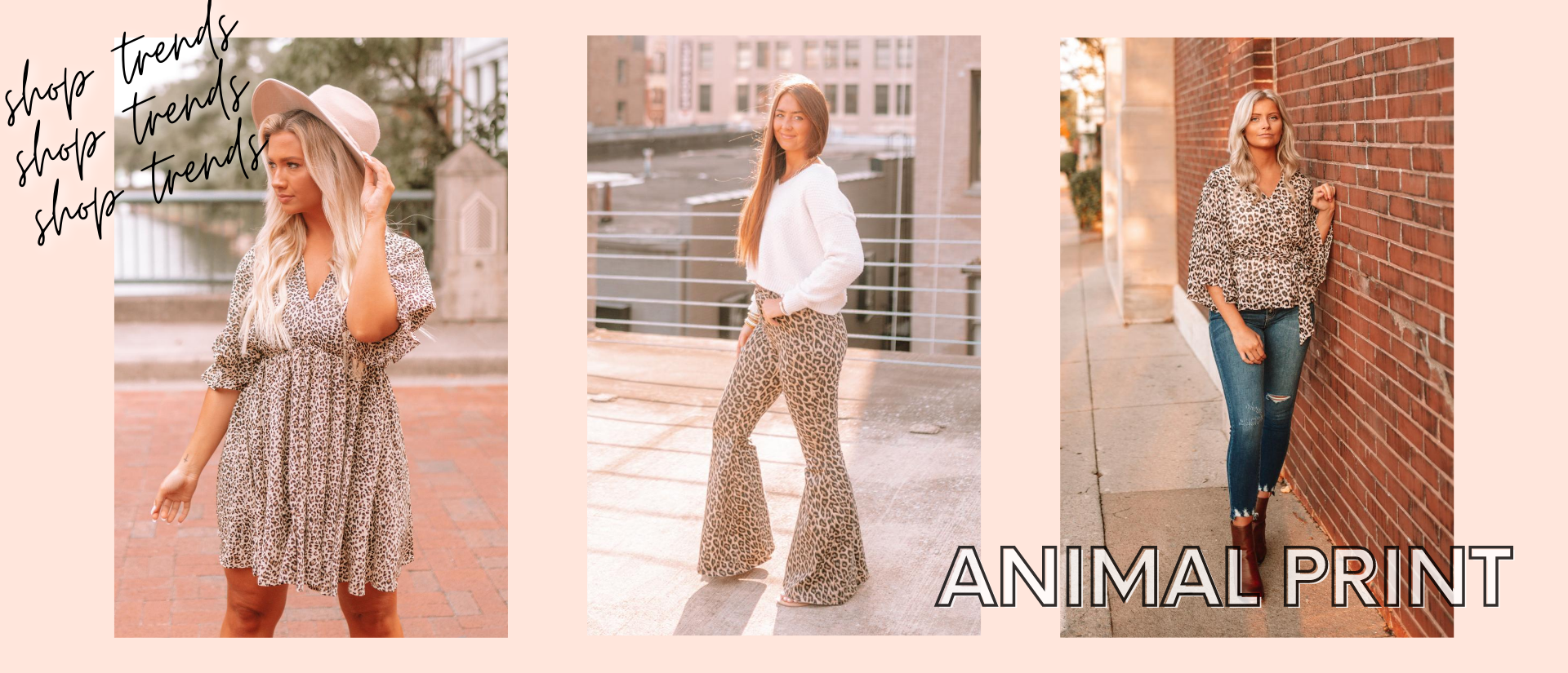 Shop What's Trending: Animal Prints