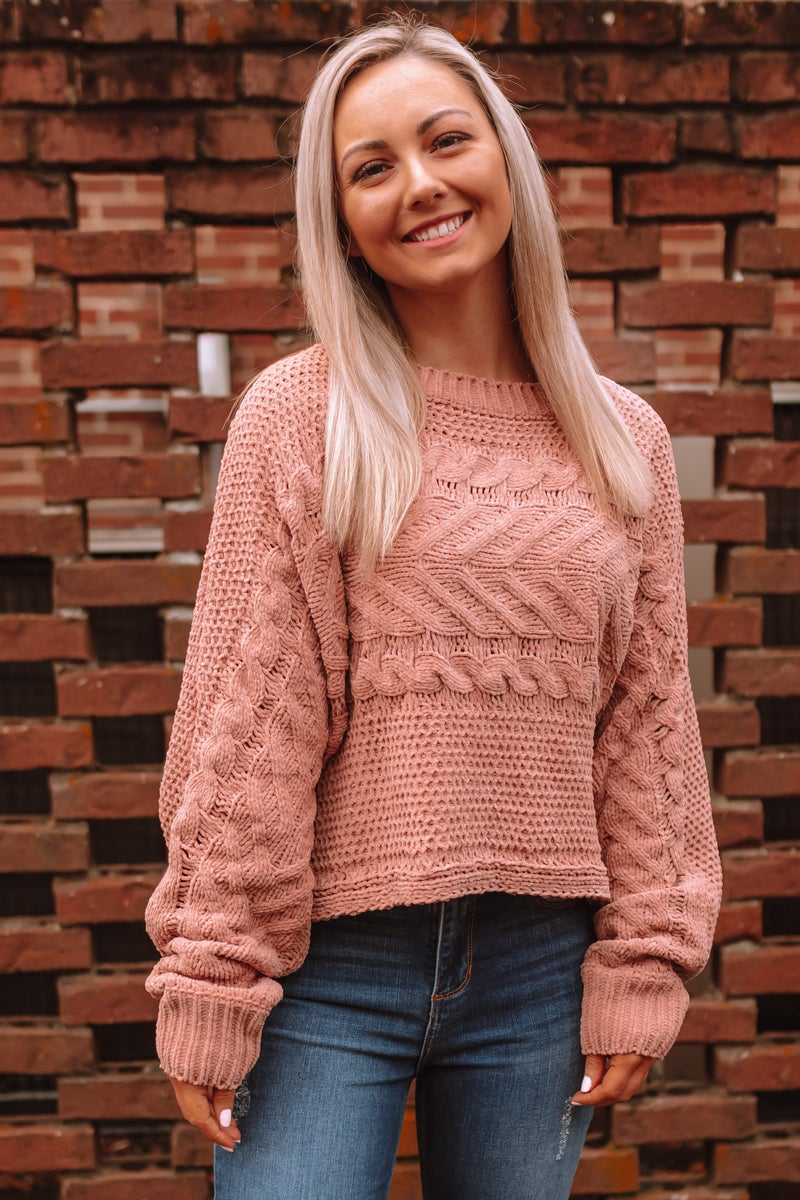 Lovely Haven Cropped Sweater
