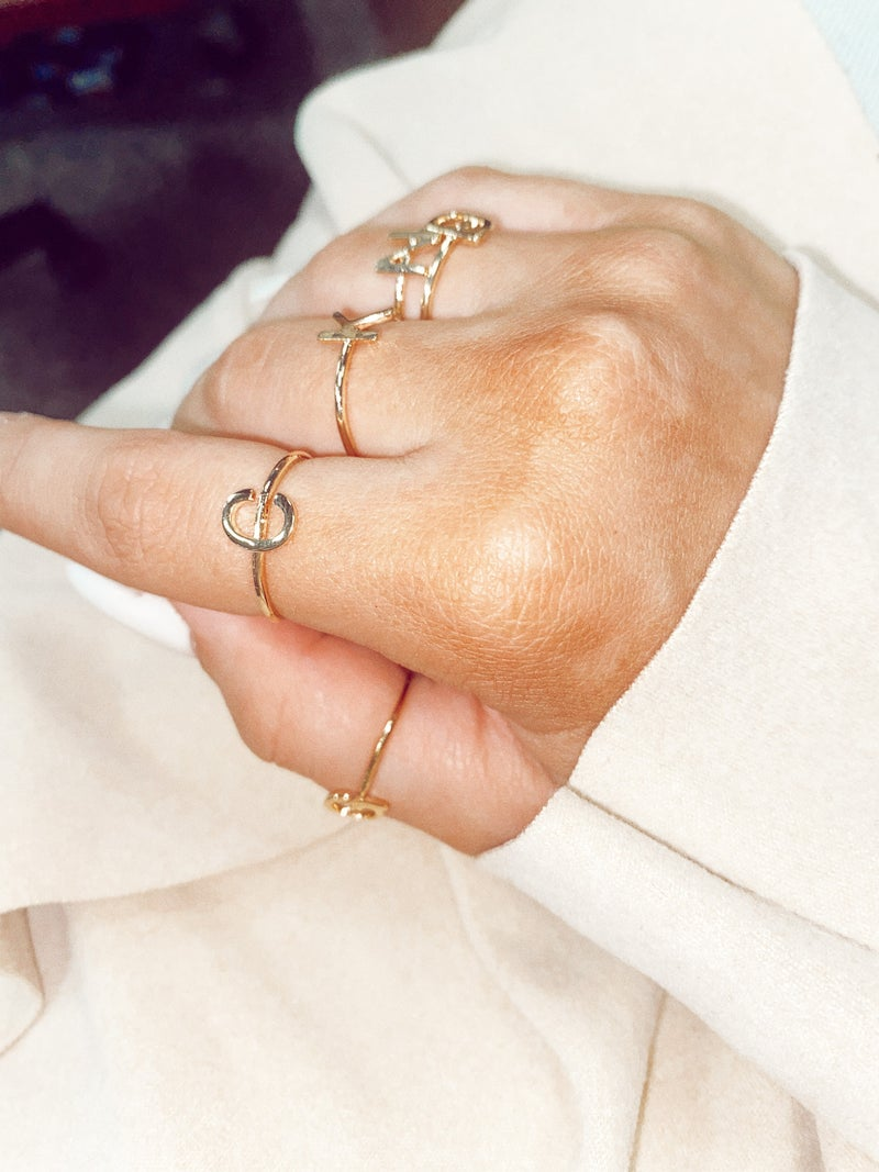 One and Only Initial Ring