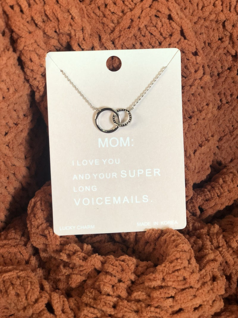 Love Your Mom Necklace