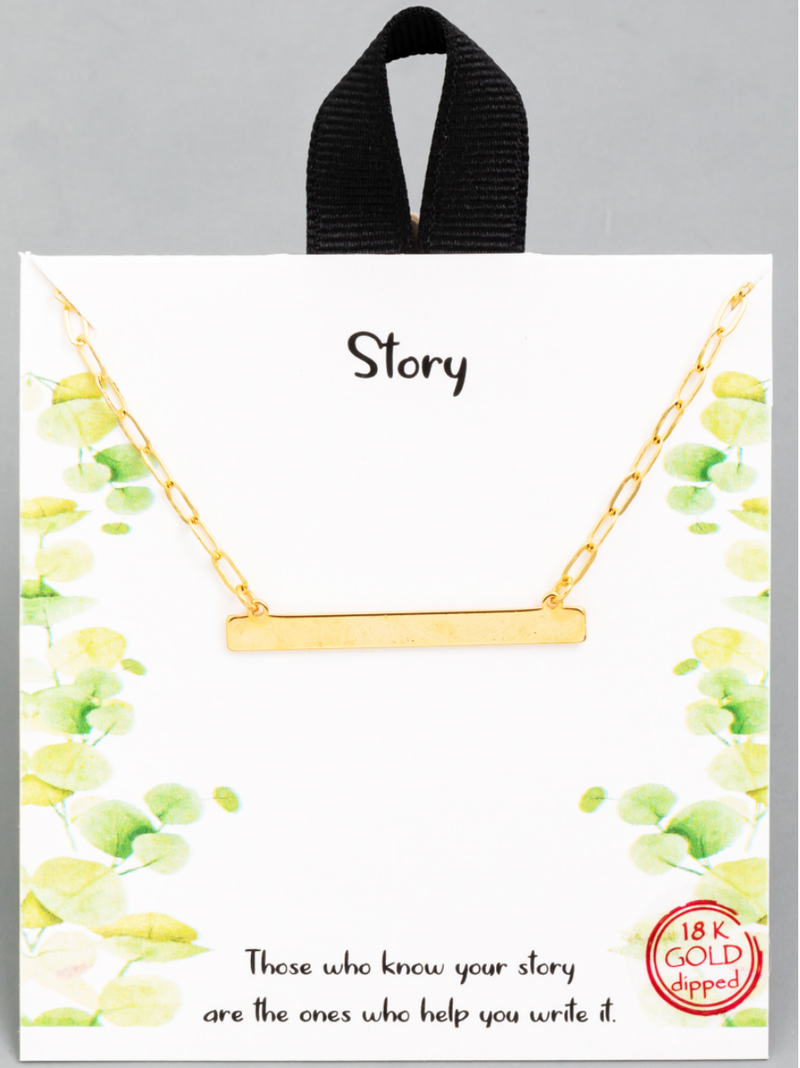 The Story Necklace
