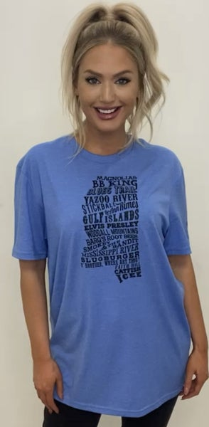 Things About Mississippi Graphic Tee