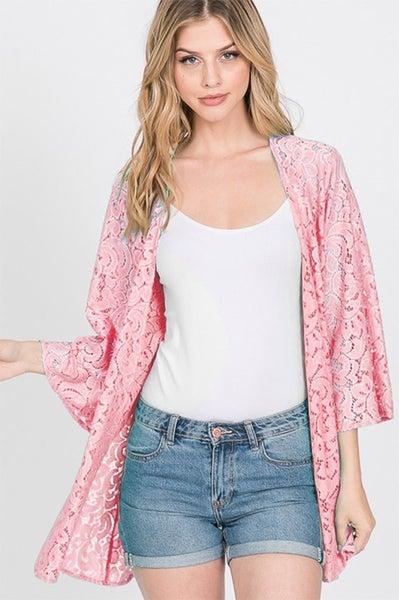 Right Lace Right Time Kimono