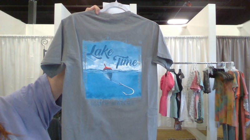 Lake Time Graphic Tee