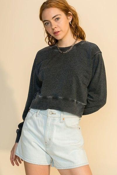 Perfect Mate Cropped Sweatshirt