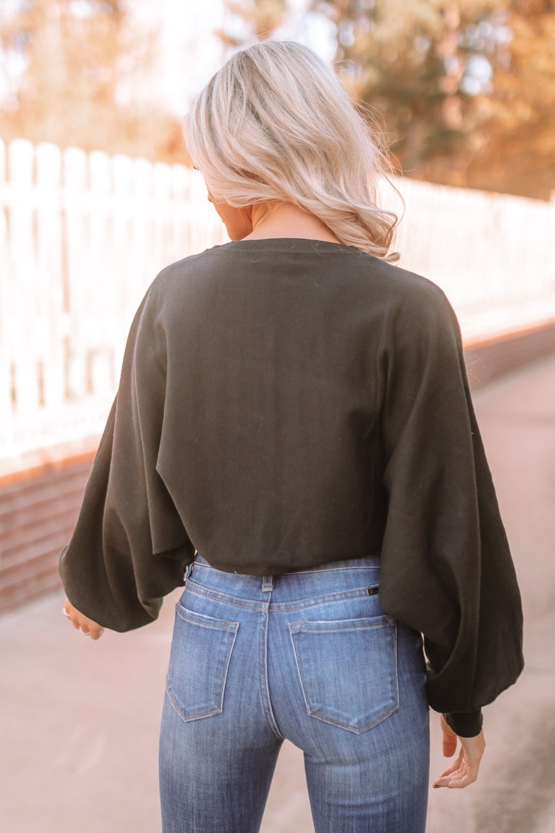 My Soul Mate Cropped Sweater