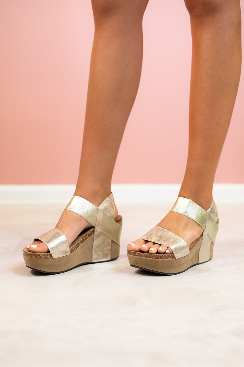 Tell Me About It Stud Wedge