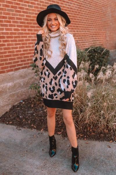 Living Lovely Sweater Dress