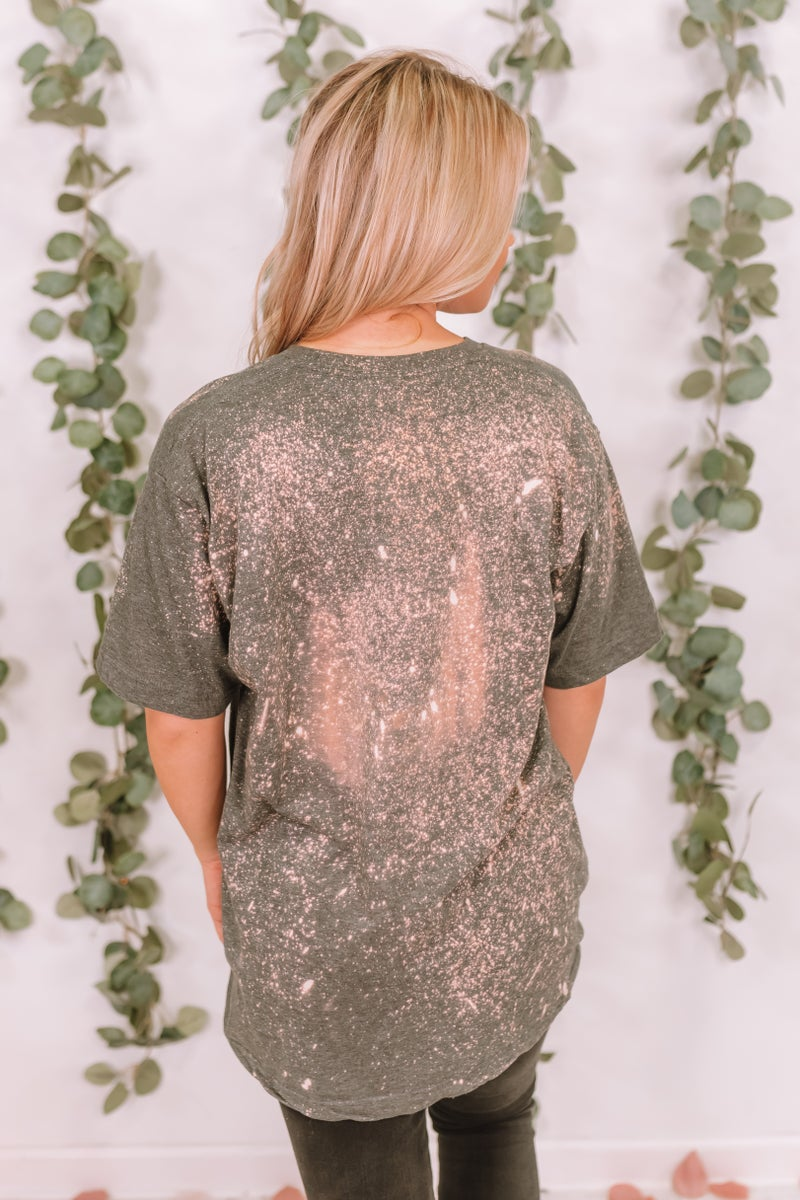 Down South Bleached Graphic Tee