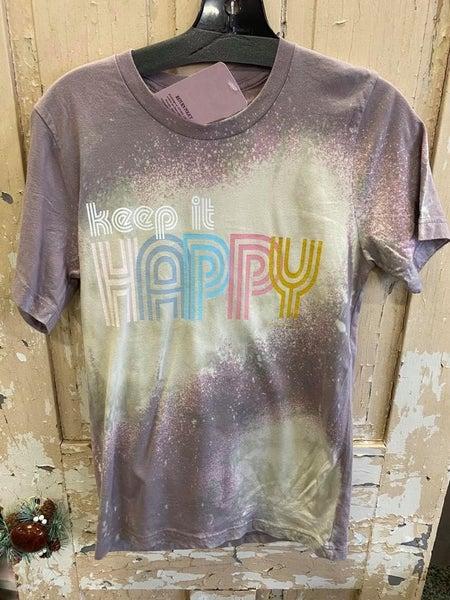Keep It Happy Graphic Tee