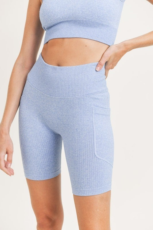 Make Your Night Biker Shorts