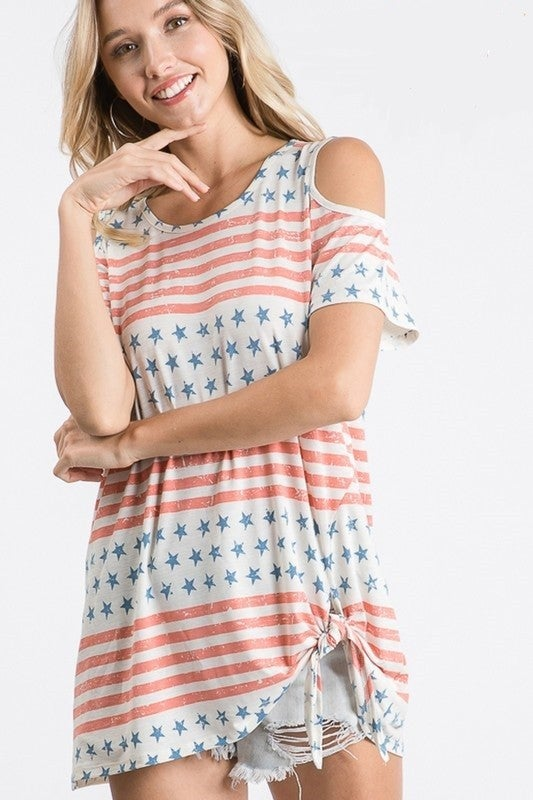 Old Glory Top