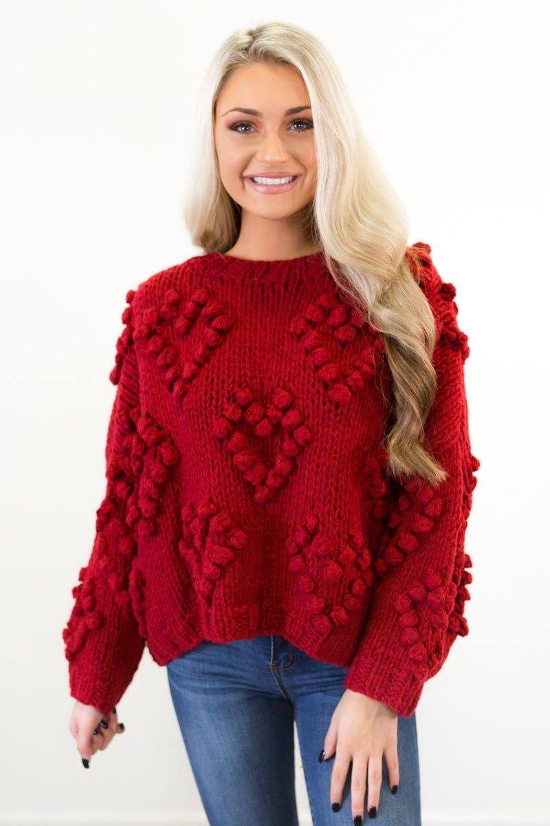 Close To My Heart Sweater