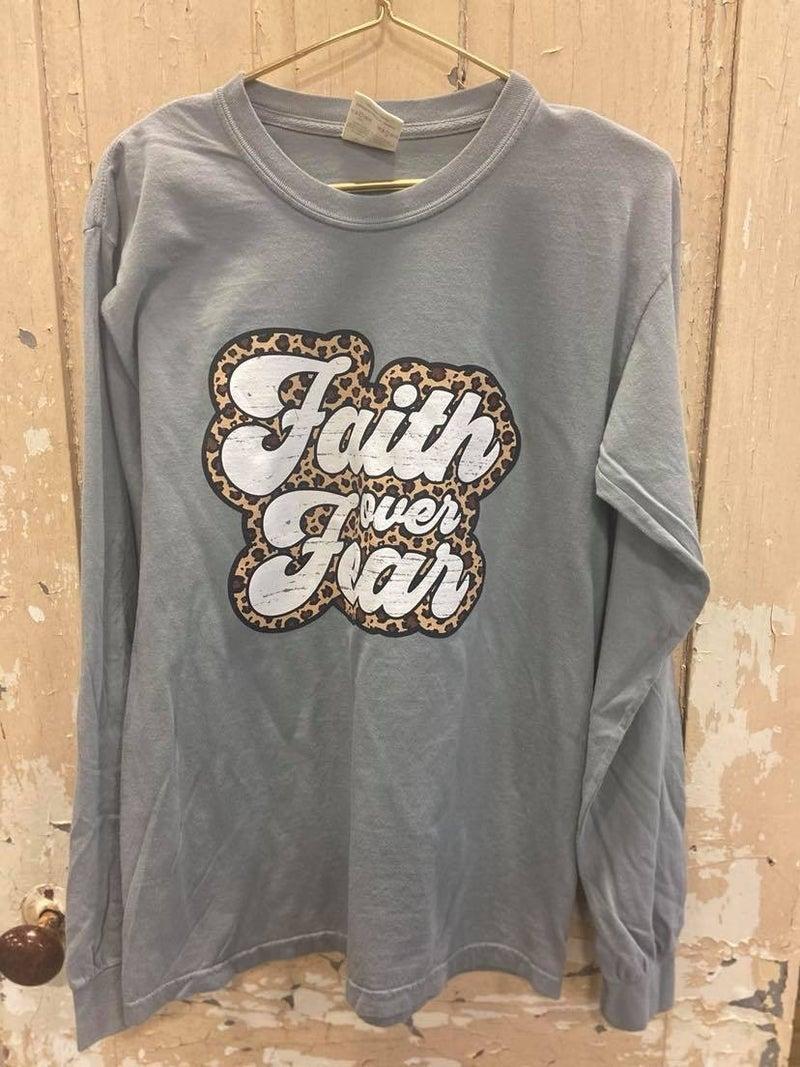 LS Faith Over Fear Graphic Tee