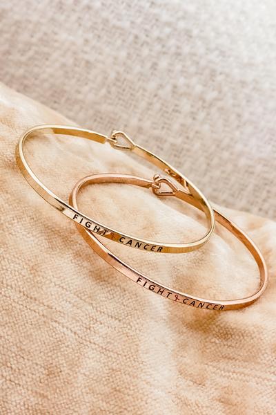 Fight Cancer Bracelet
