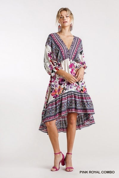 Encourage Yourself Midi Dress
