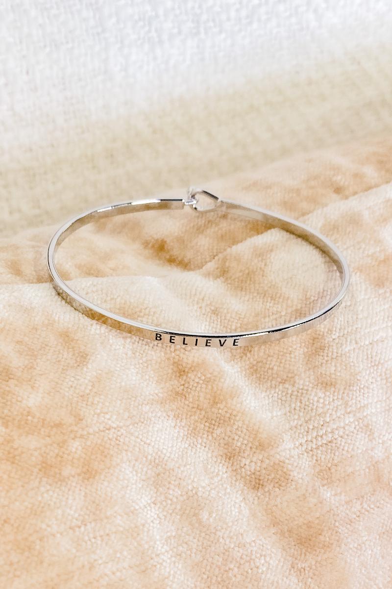 We Believe Bracelet