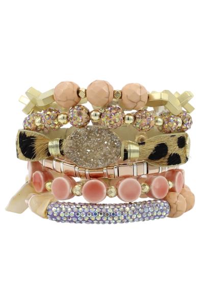 Lizzie Erimish Bracelet Stack