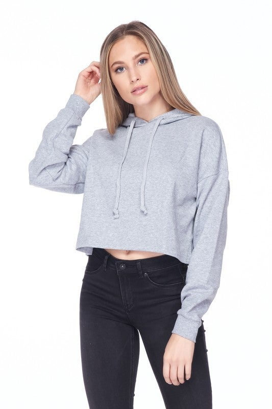 Cozier Times Cropped Hoodie