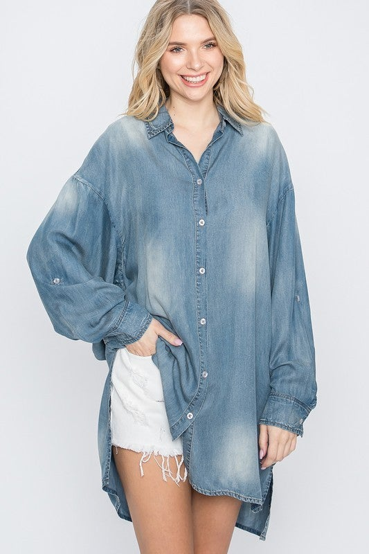 Above The Clouds Tunic