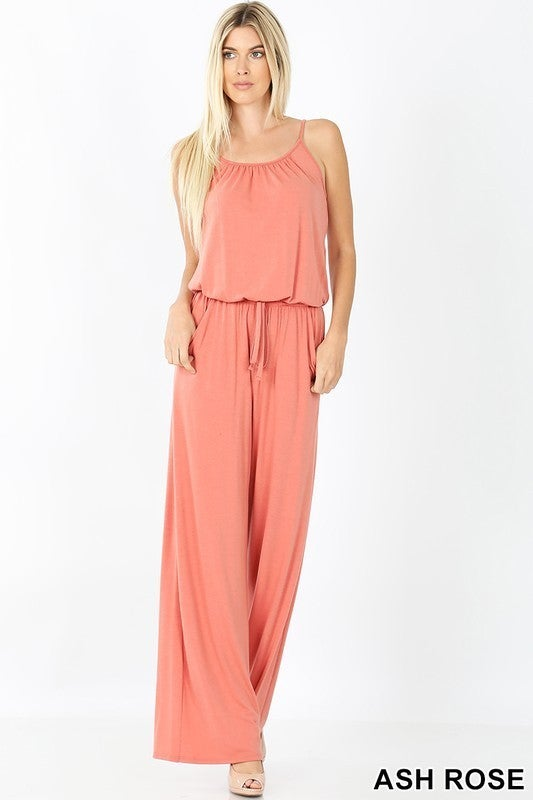 Jump To It Jumpsuit - 701