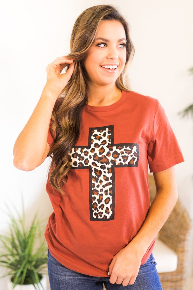 Animal Cross Graphic Tee