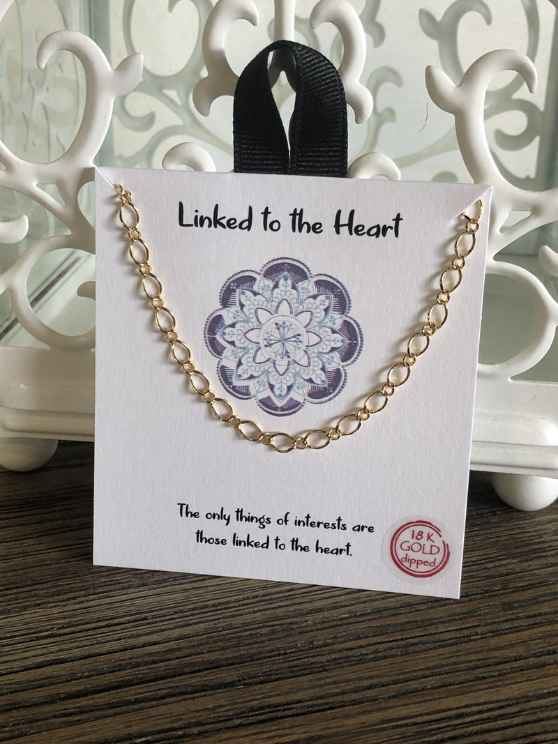 Linked To The Heart Necklace