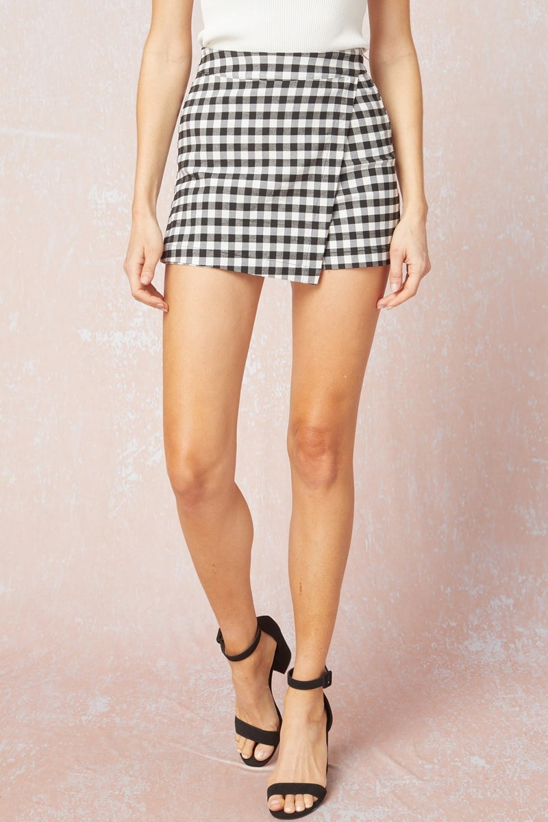Check In For The Weekend Skort