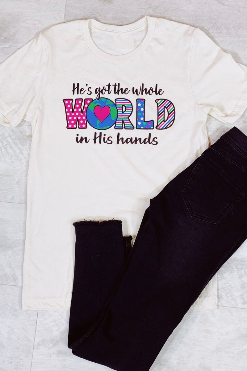 In His Hands Graphic Tee