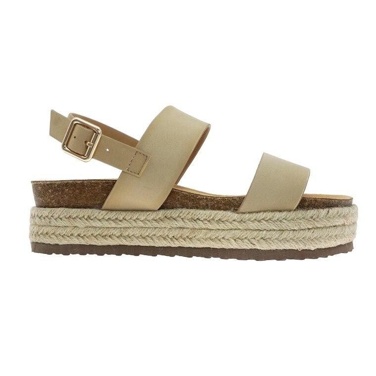 Follow Where You Go Platform Sandal