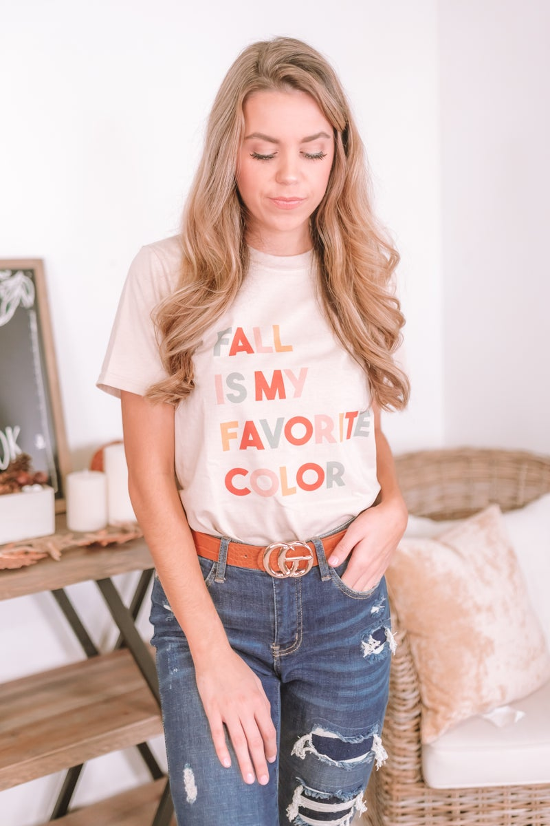 Favorite Color Graphic Tee