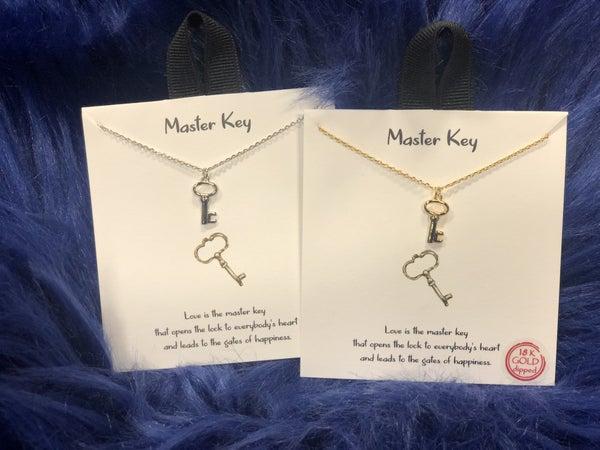 Master Key Necklace