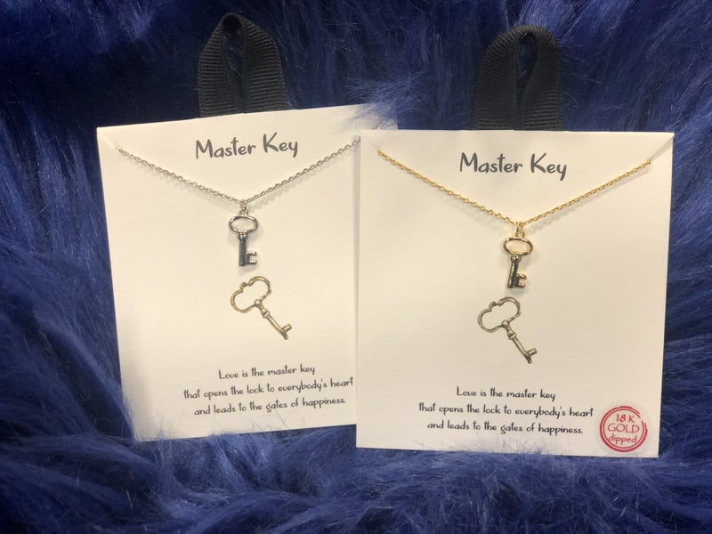 Master Key Necklace