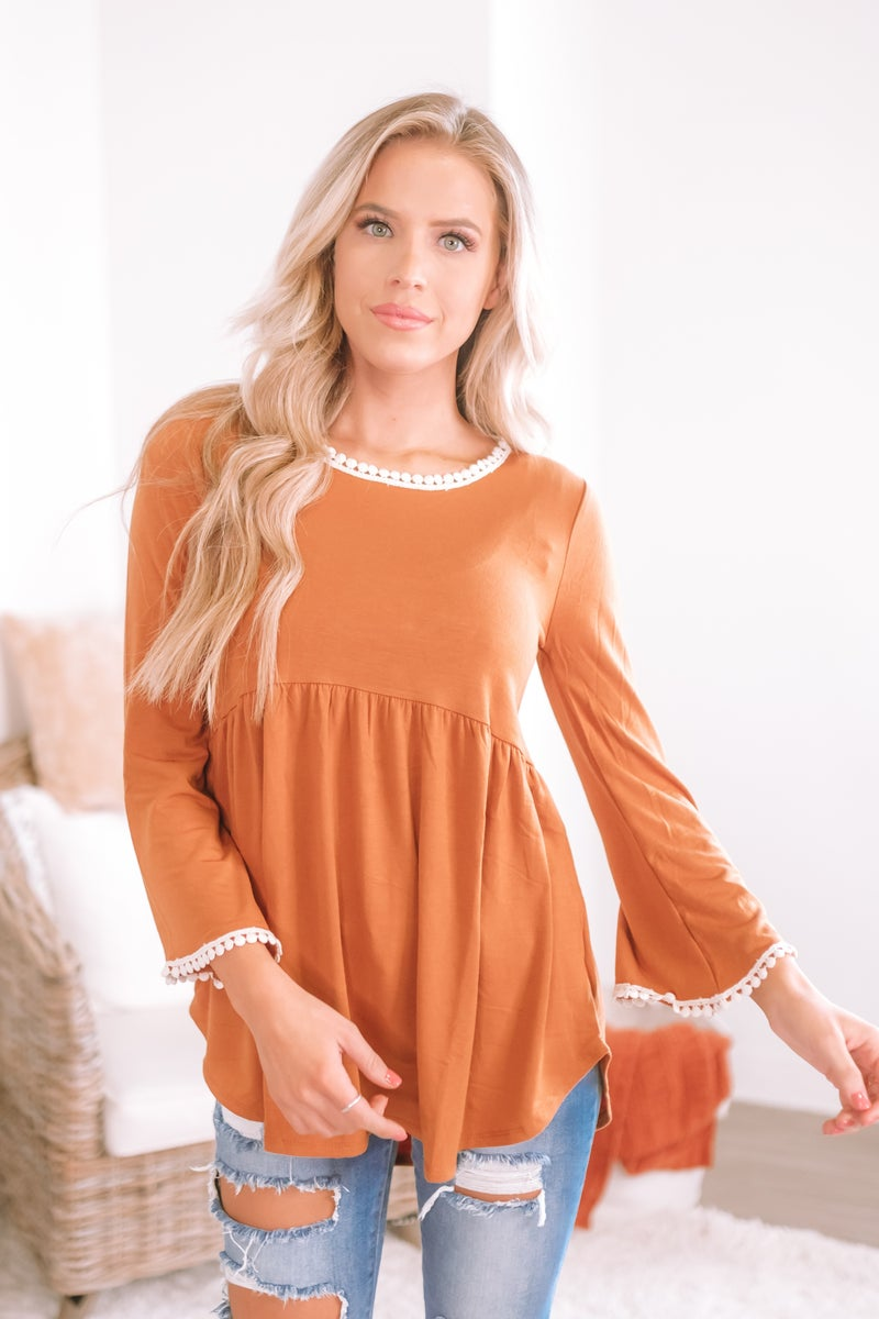 Filled With Grace Top