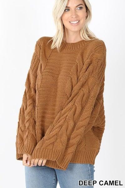 Pretty Much Done Sweater