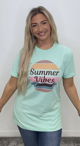 Summer Vibes Graphic Tee