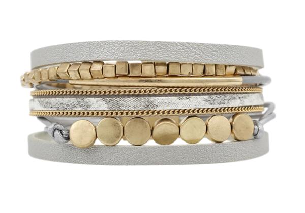 Olive-Gold Erimish Bracelet