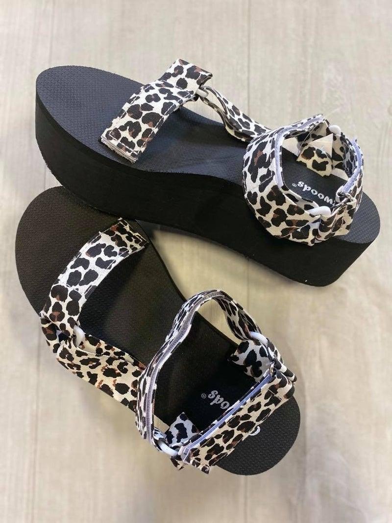 Walking Tall Platform Sandal