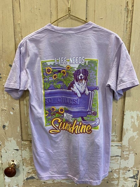 More Sunshine Graphic Tee