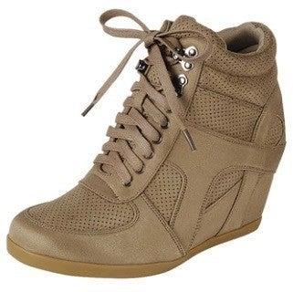 Saturday Shopping Sneaker Wedge