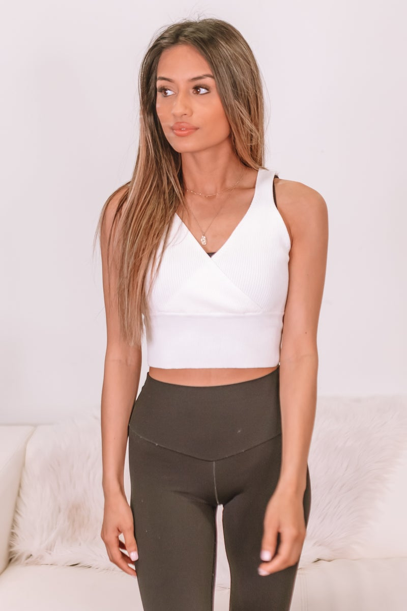 Suits You Well Cropped Tank