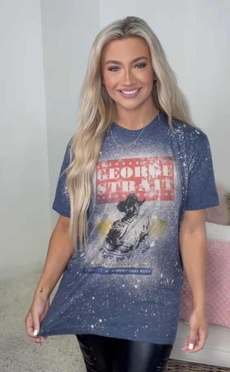 George Strait Graphic Tee