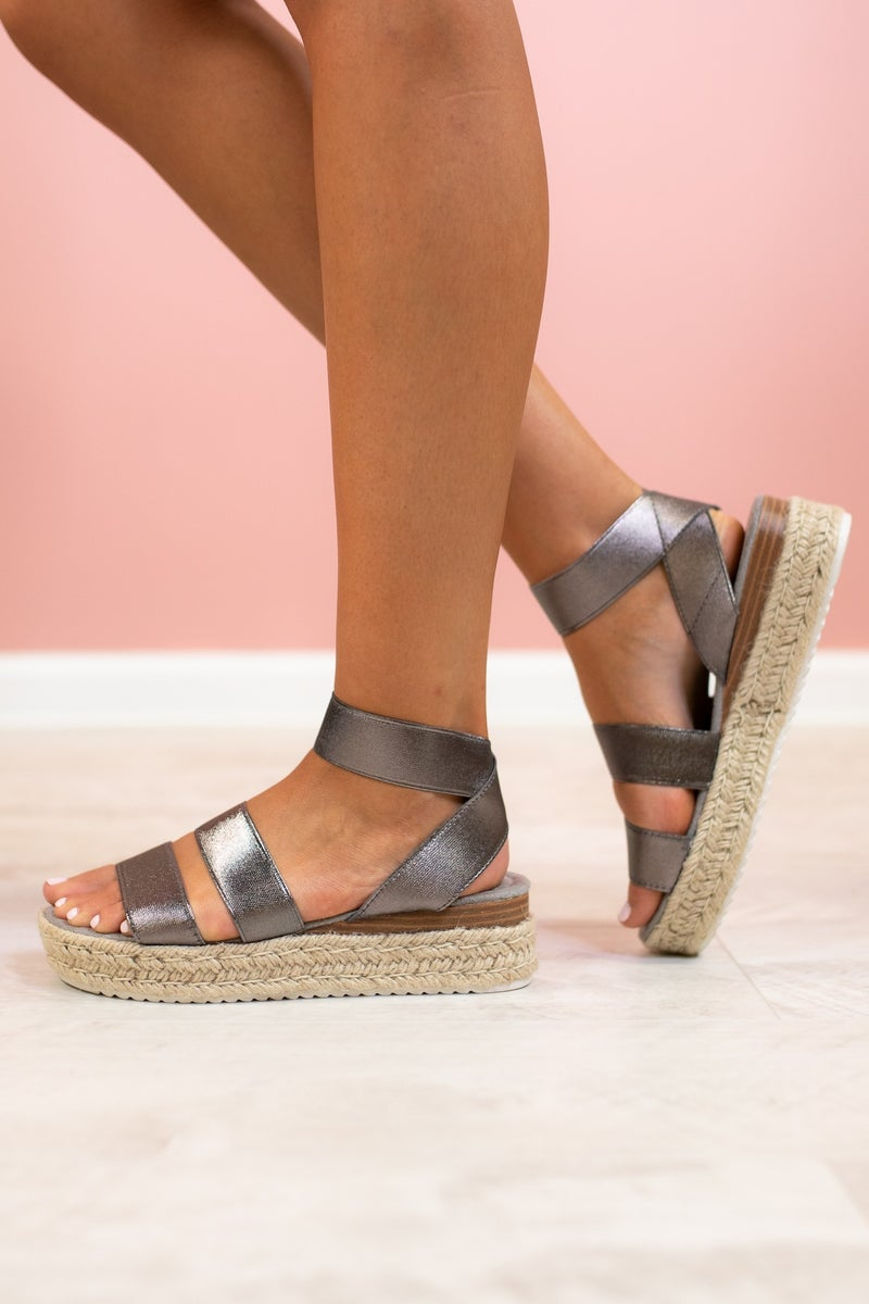Prepared For Fun Platform Sandal