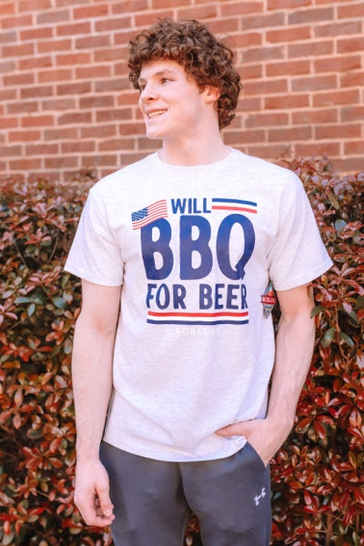 BBQ For Beer Unisex Graphic Tee