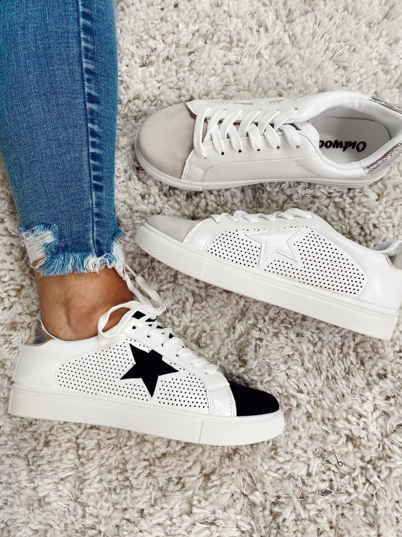Tied And Trendy Sneaker