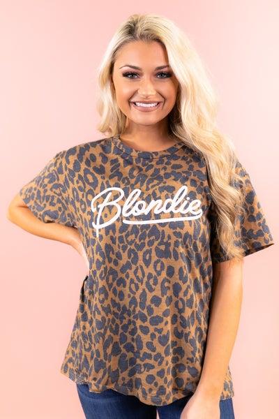 Blondie Leopard Graphic Tee