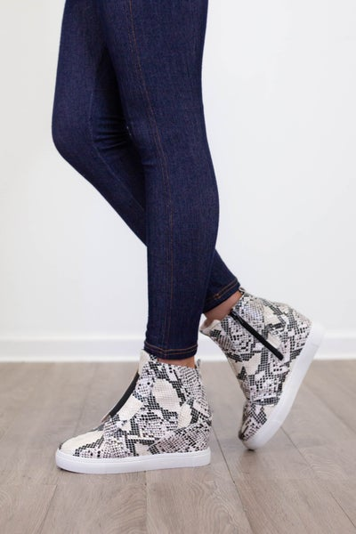 Hiding Out Sneaker Wedge